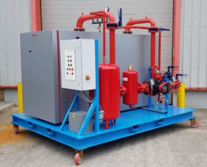 LPHW Package Boiler Plant.