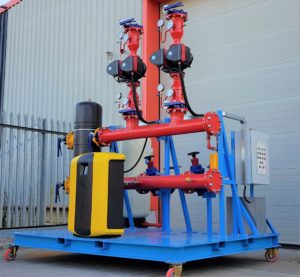LPHW Package Low Loss Header Plant.