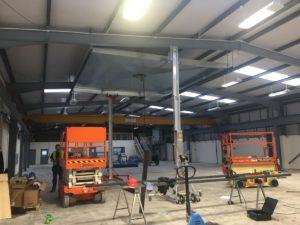 Extract Canopy Installation.