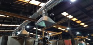 Rotational Moulding 3 Point Exhaust System.